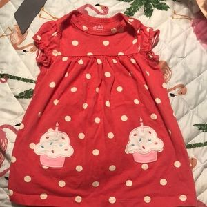 Carters Cupcake Dress GUC 12m